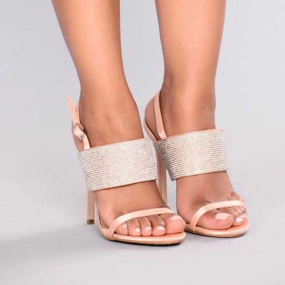 91ecb5a07ae Fashion Nova Shoes - Fashion Nova Jammin Jewels Heel anise-1 Pink